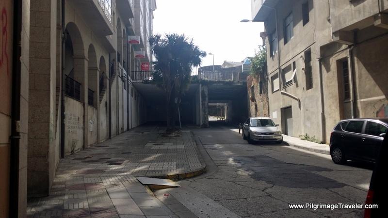 Through A Tunnel into Lugo, Spain