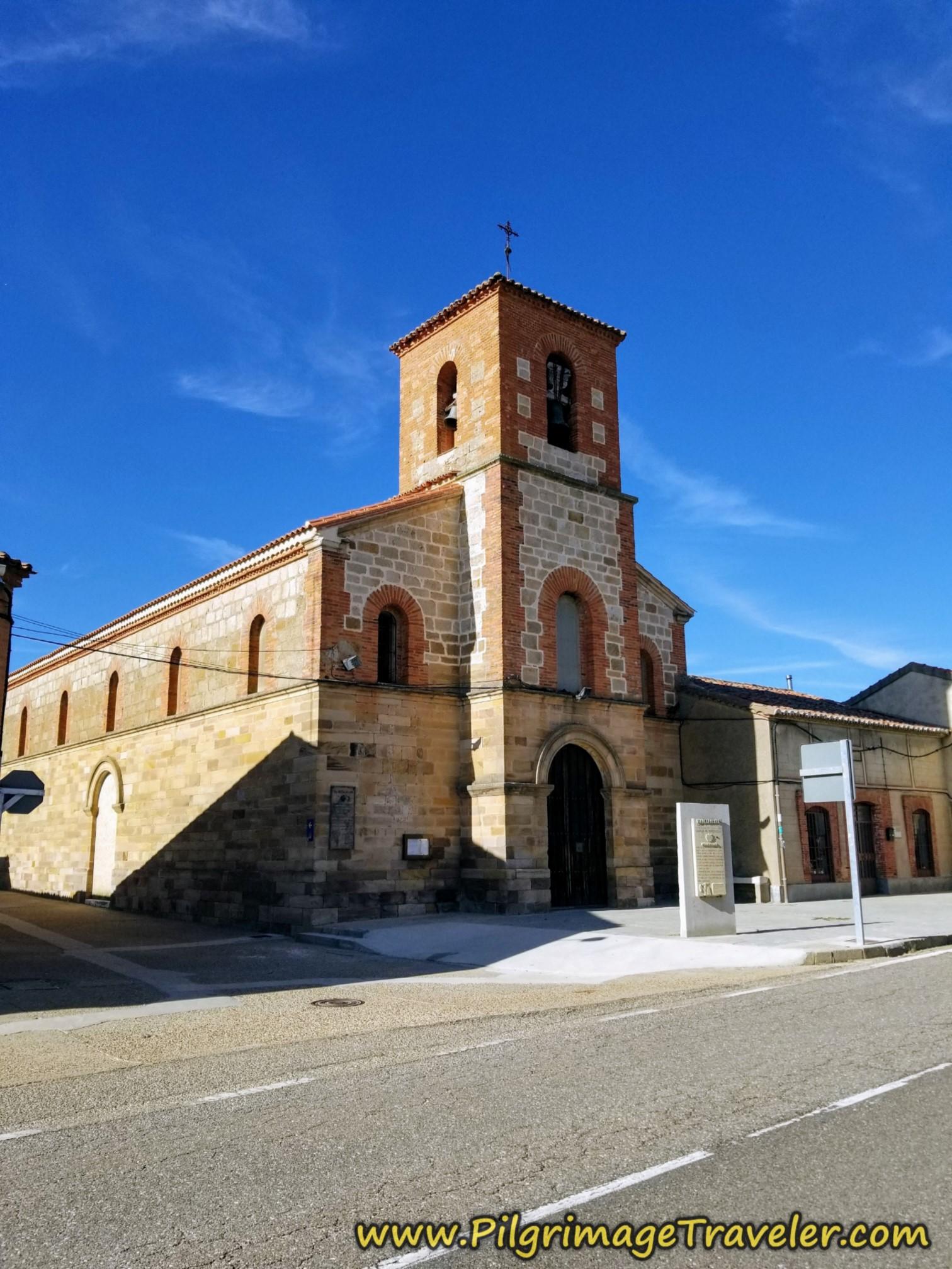 Town Church on the Vía de la Plata from Montamarta to Granja de Moreruela