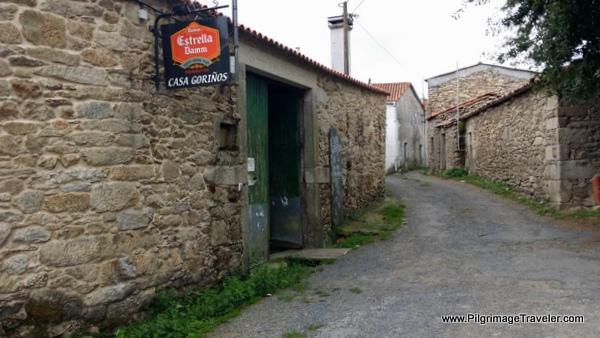 The Only Restaurant in As Seixas, the Casa Goriños