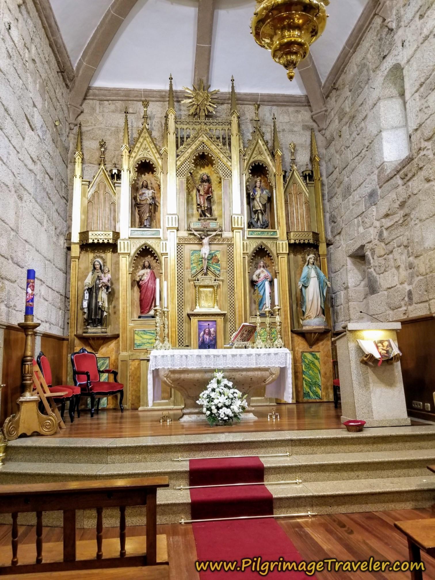 Altar, Parroquia de San Breixo de Seixalbo
