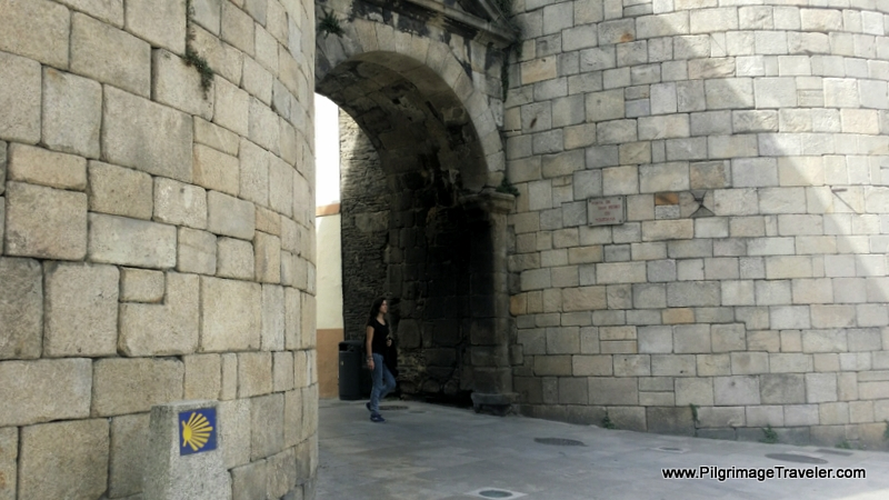 Entry Into the Fortifications - Porta de San Pedro ou Toledana, Lugo, Spain