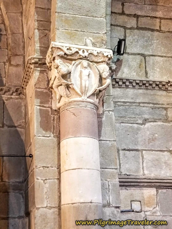 Equinox Lit Column, Iglesia de Santa Marta de Tera