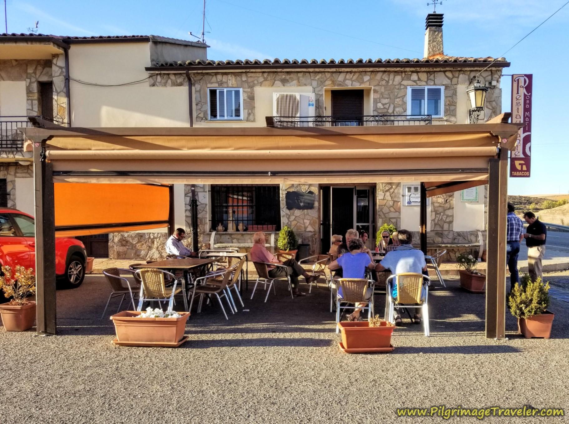 Restaurante Rosamari on the Vía de la Plata from Zamora to Montamarta
