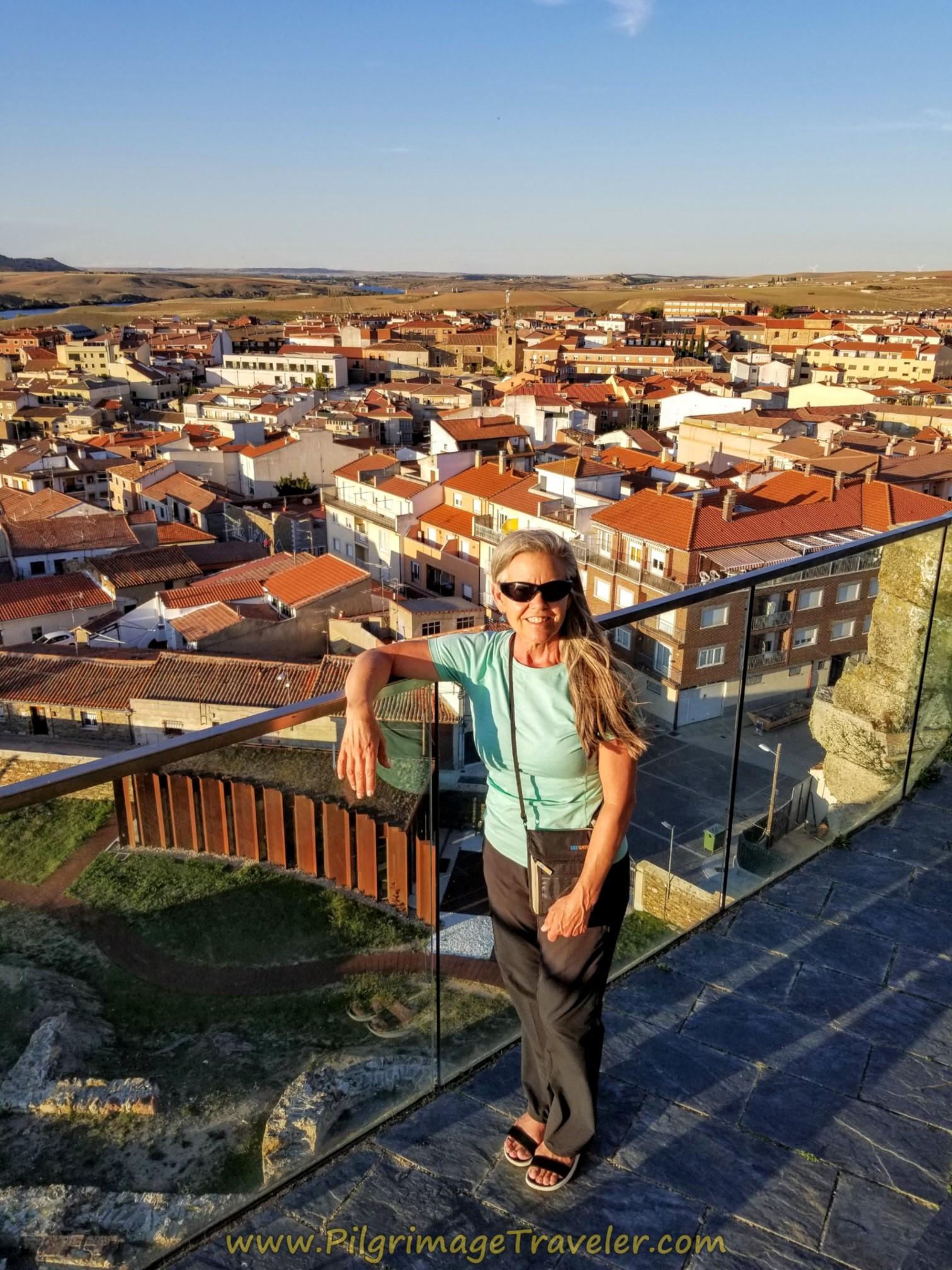 View from the top of Castillo-Palacio de los Duques de Alba