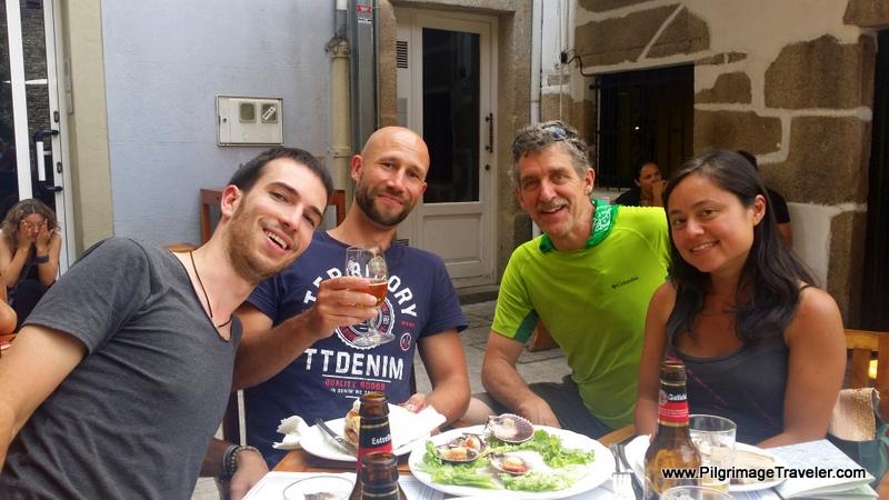 Four O'Clock Tapas - Igor, Matias, Rich and Friend
