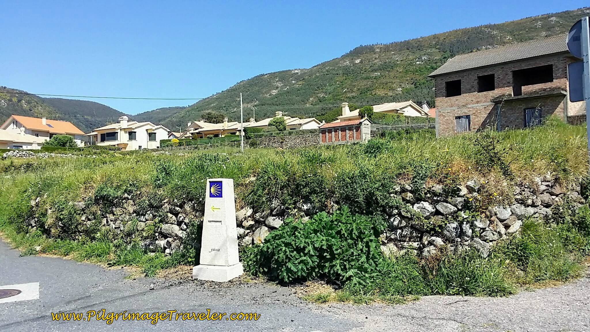 Our Camino Ends Here at this Waymark on day ninteen of the Portuguese Way