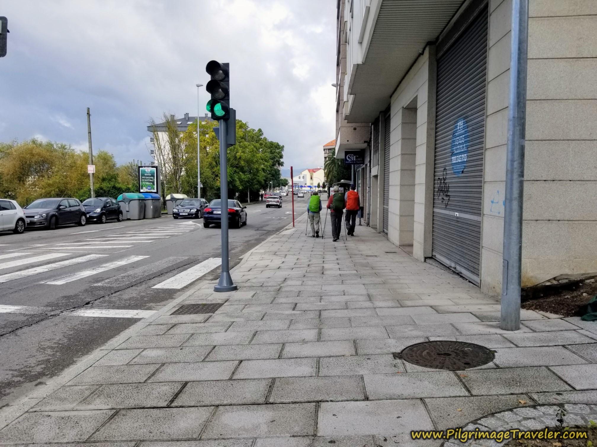 Along the Avenida de Zamora