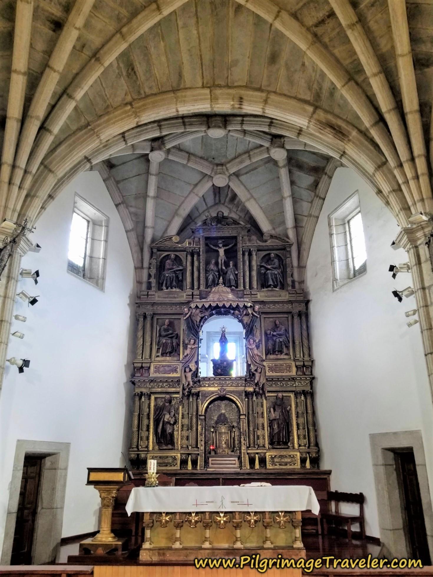Altar, Iglesia de Santa María de Azogue