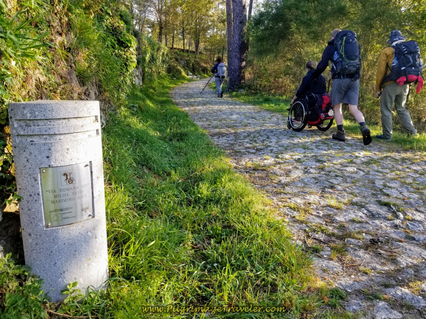 Via Romana Waymark on day nineteen on the Central Route of the Portuguese Camino