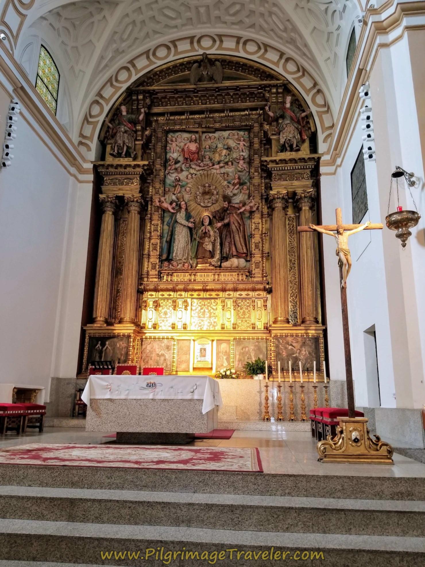 Altar Convento de Santa Teresa de Jesús