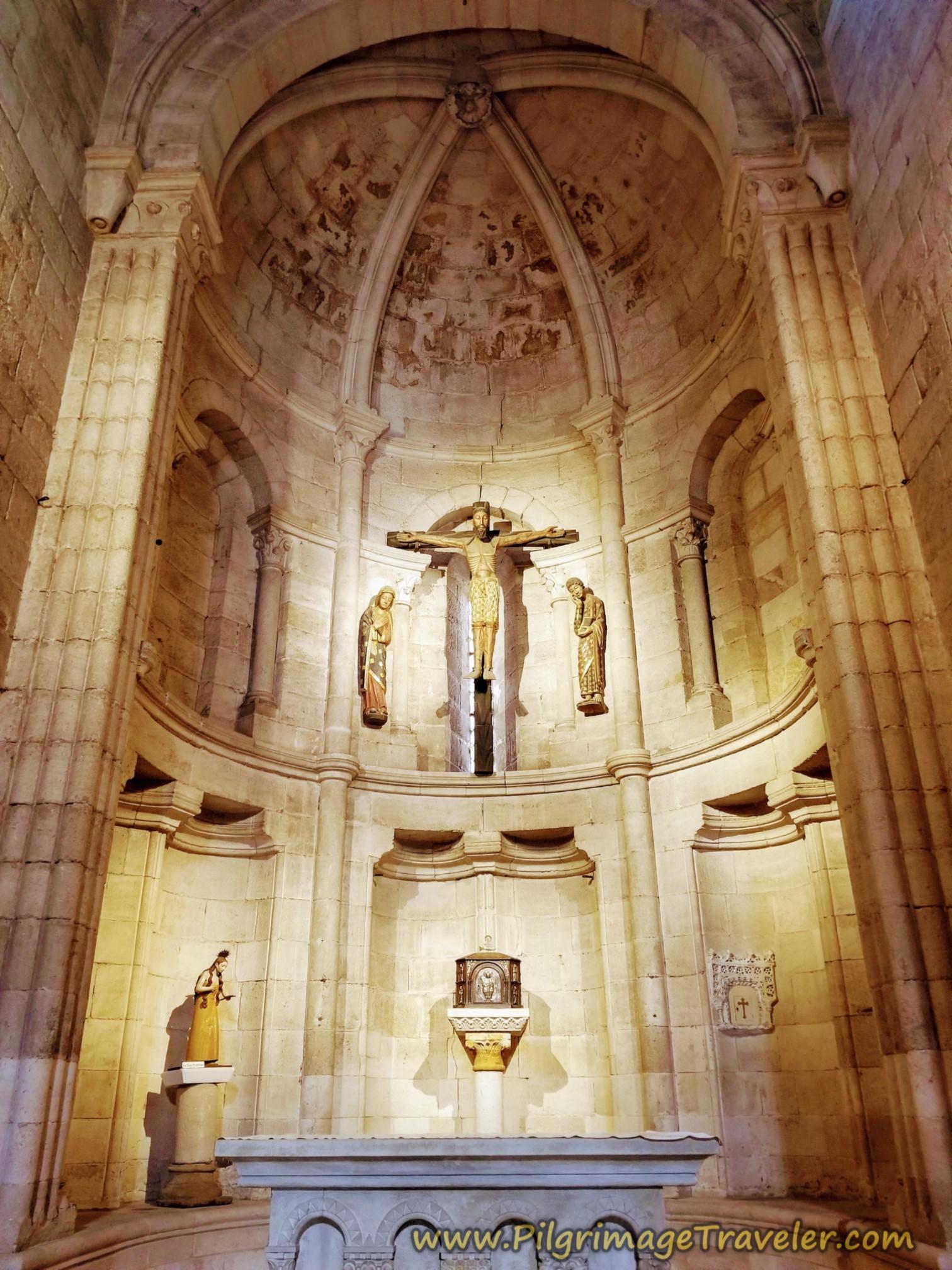 Altar of Santa María Magdalena de Zamora