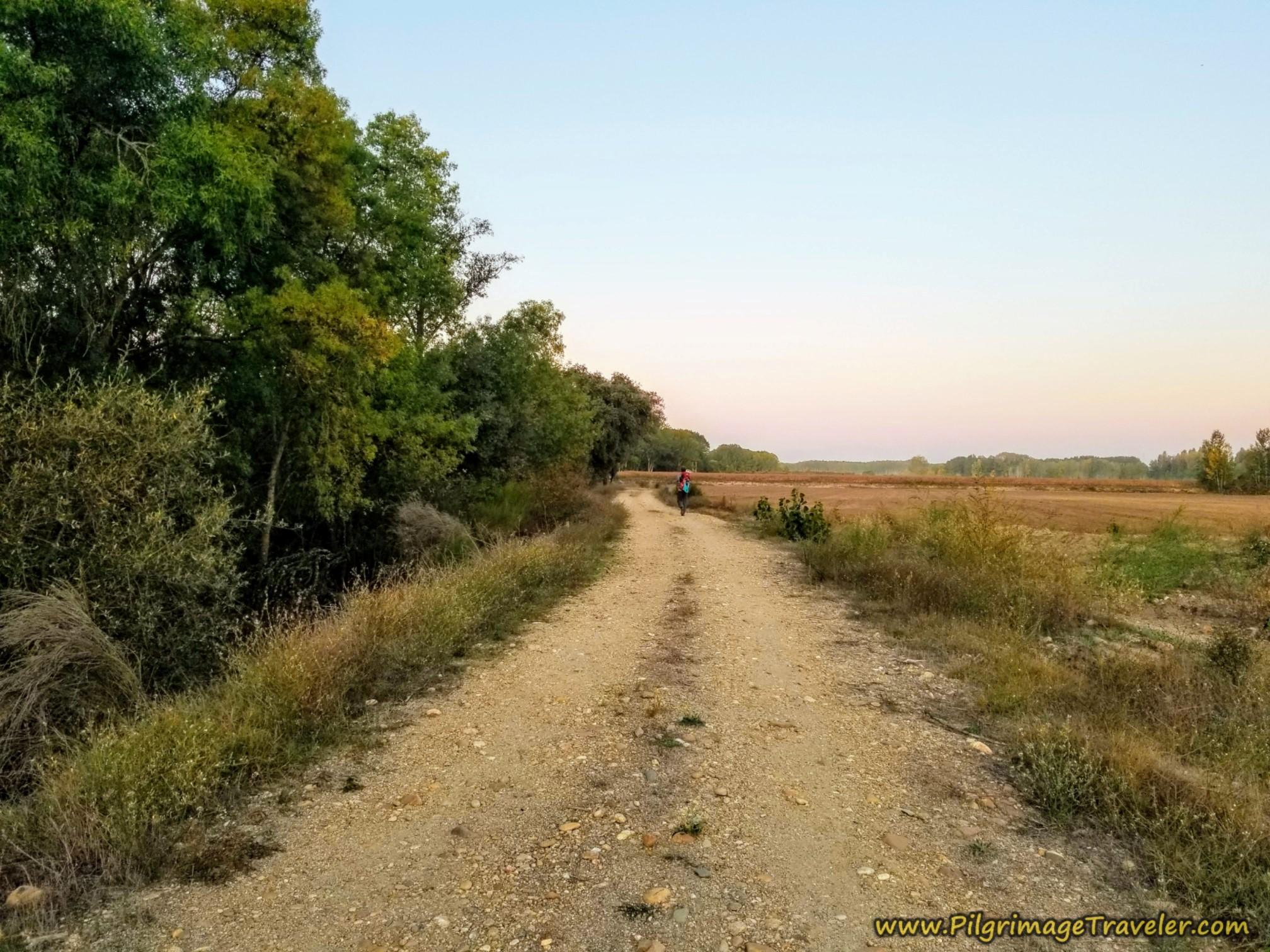 Follow the Río Tera