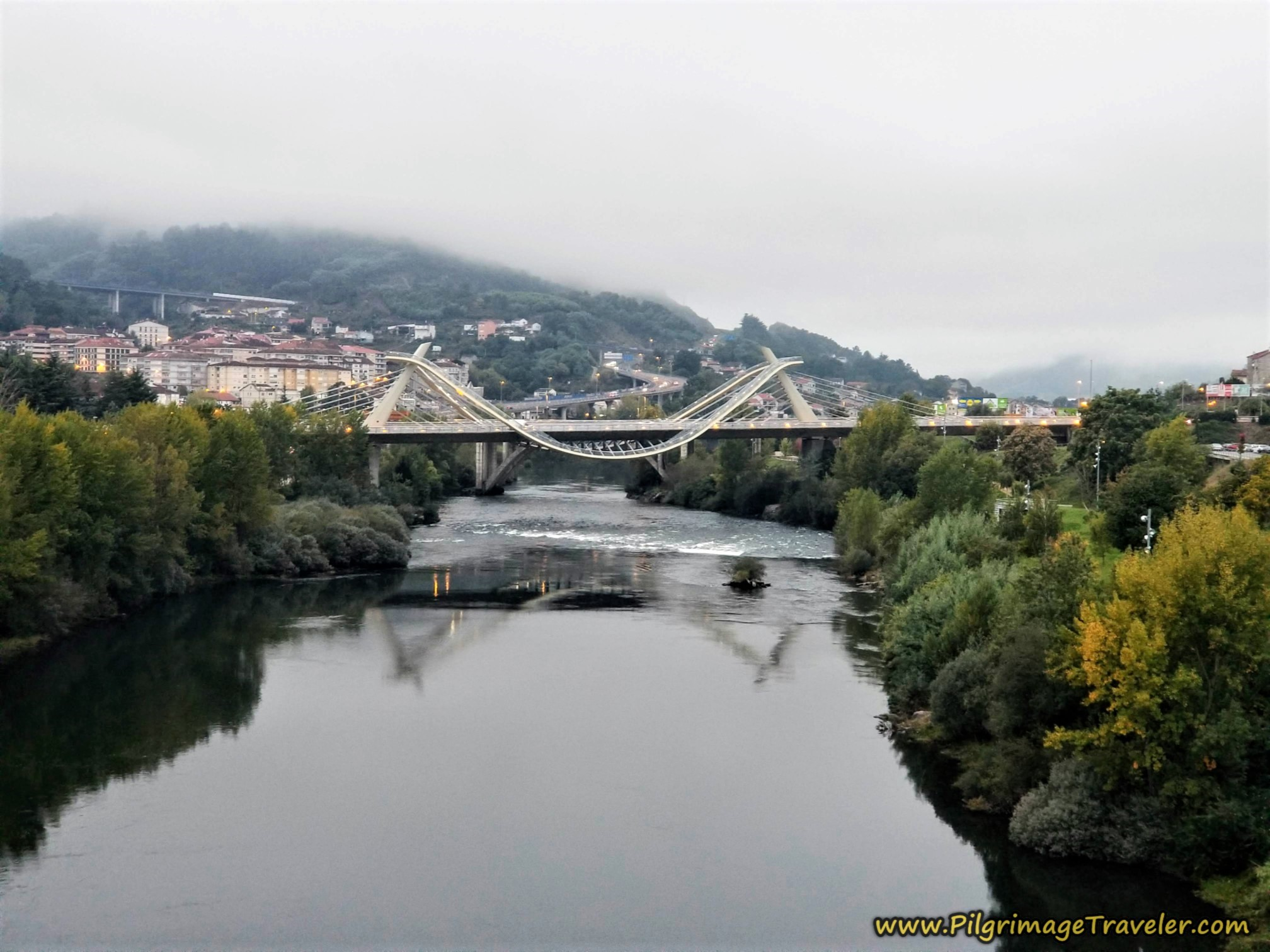 Ponte do Milenio, Ourense, Camino Sanabrés, Ourense to Cea
