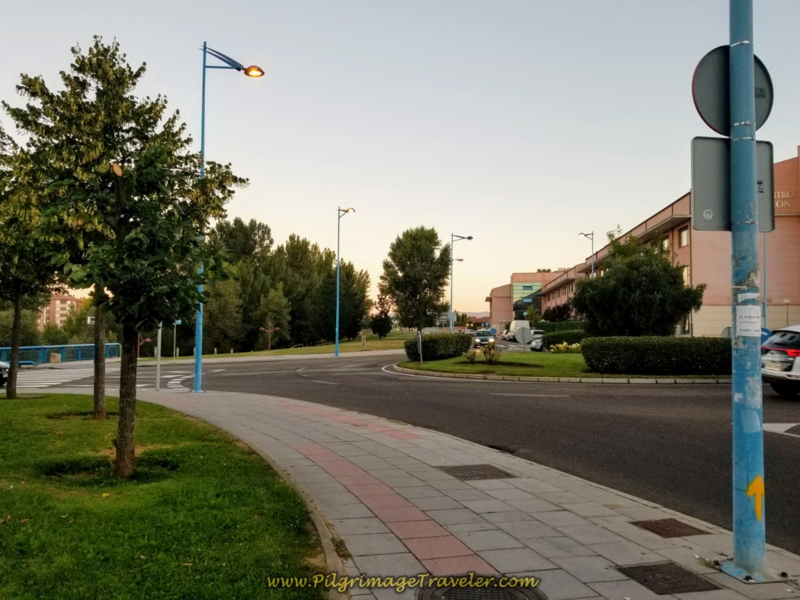 Second Roundabout on the Avenida Los Peregrinos