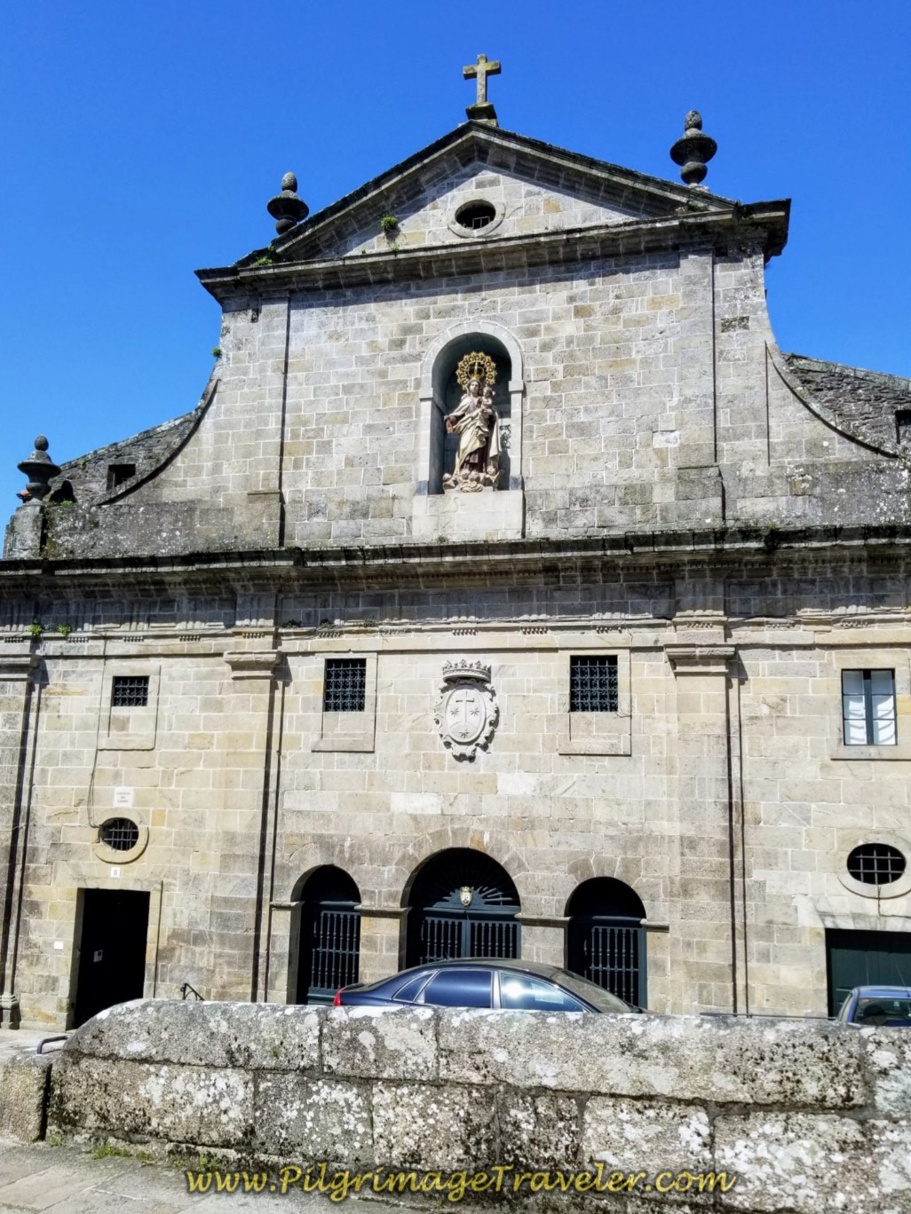 Convento do Carme in Santiago de Compostela on day eight of the Camino Inglés