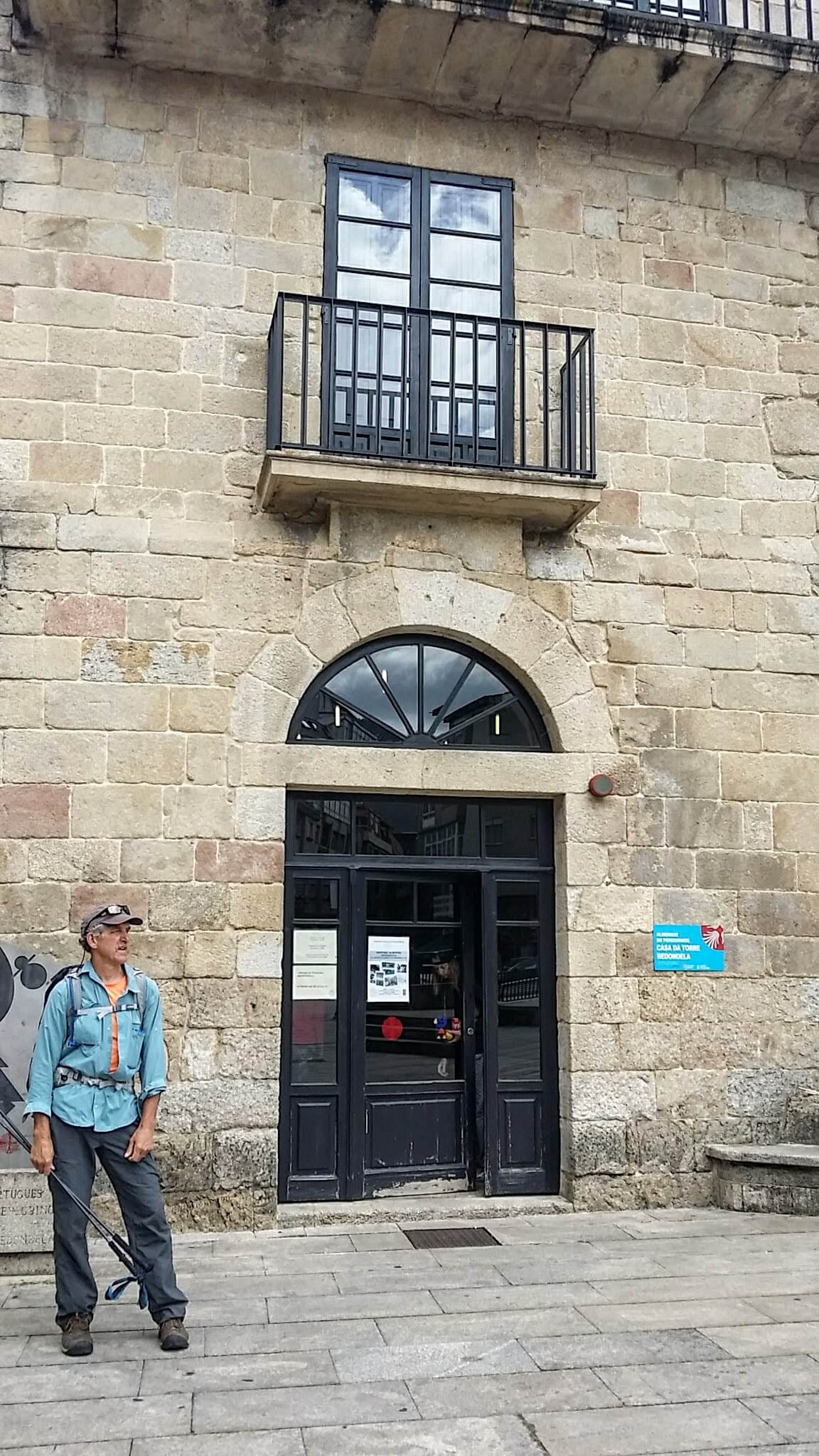 The Municipal Albergue of Redondela on day twenty-one of the Camino Portugués