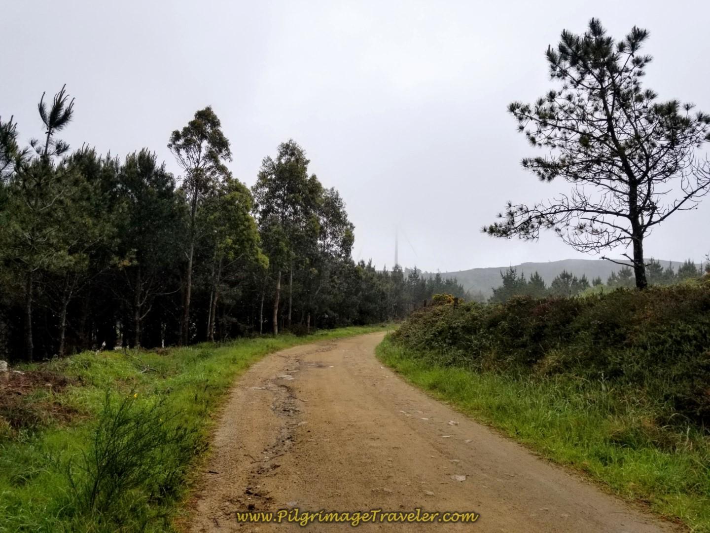 The Camino Top at Facho de Lourido