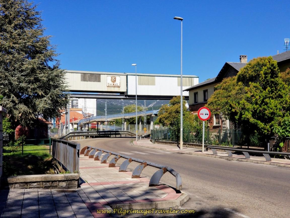 Walk Under Industrial Use Overpass