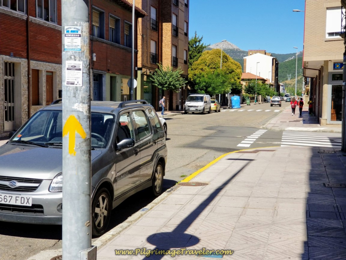 Main Street Through La Robla