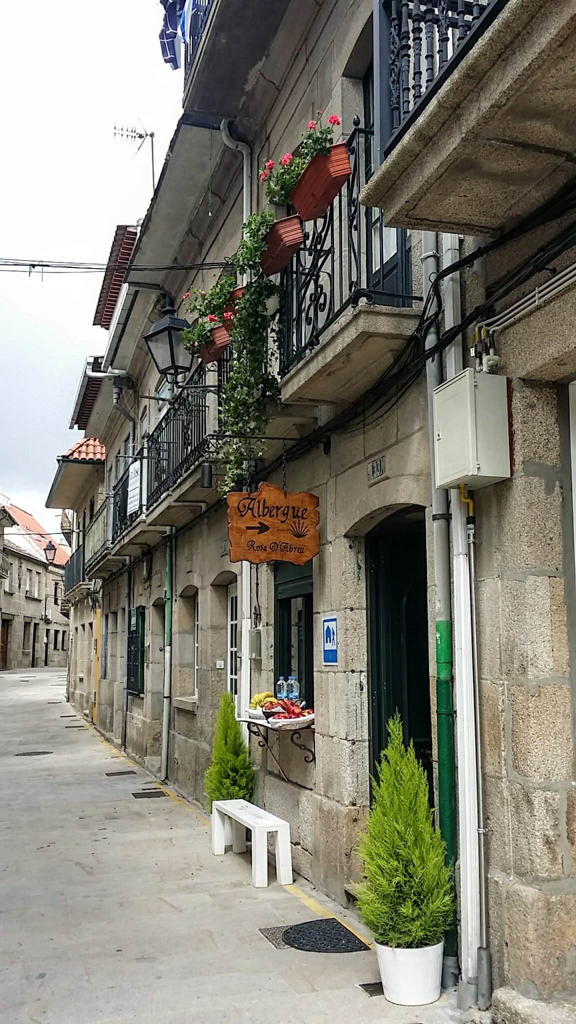 The Albergue, Rosa D'Abreu, Redondela, Spain on day twenty-one of the Camino Portugués
