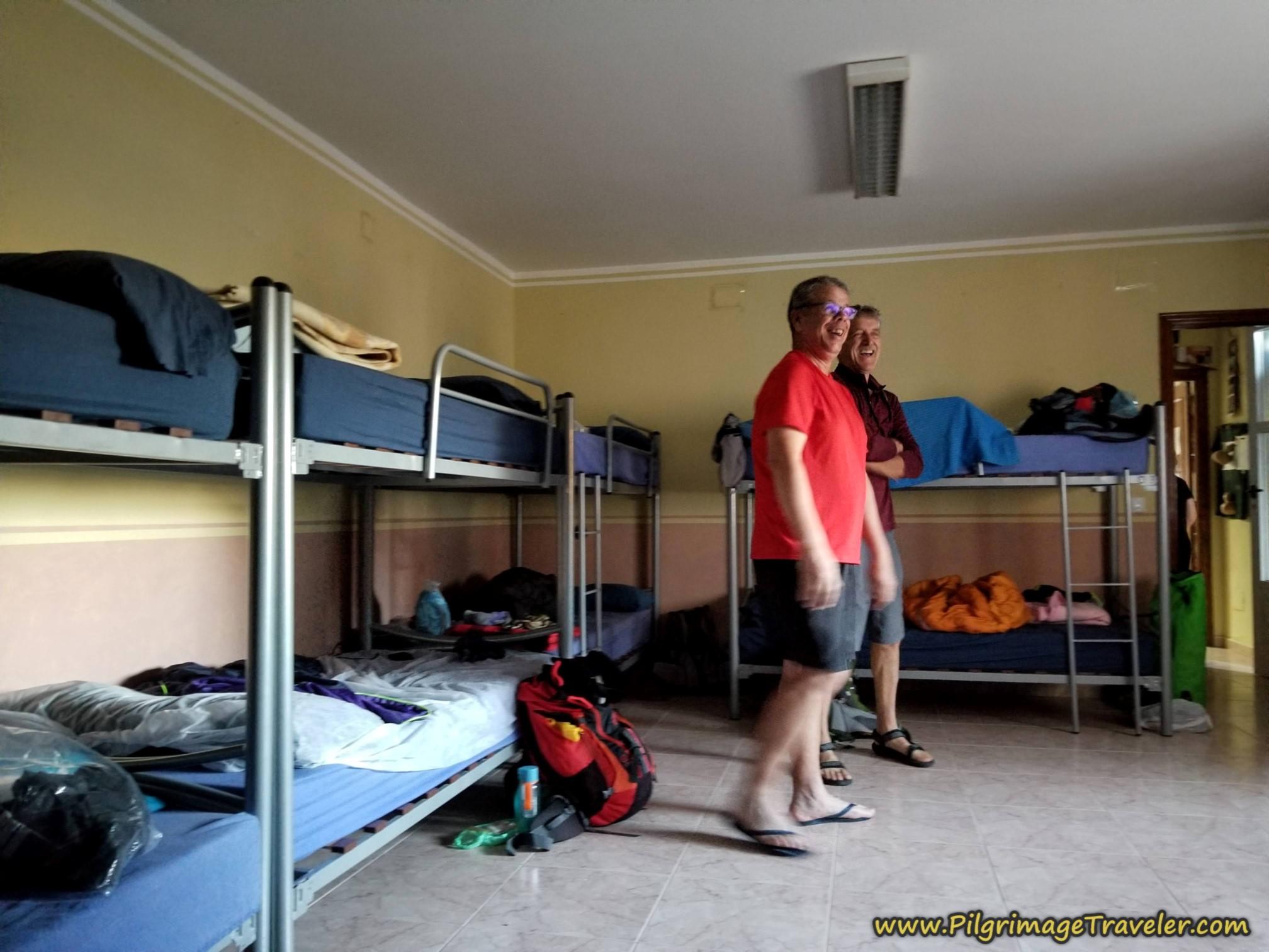 Dormitory of the Albergue de Peregrinos de Tábara