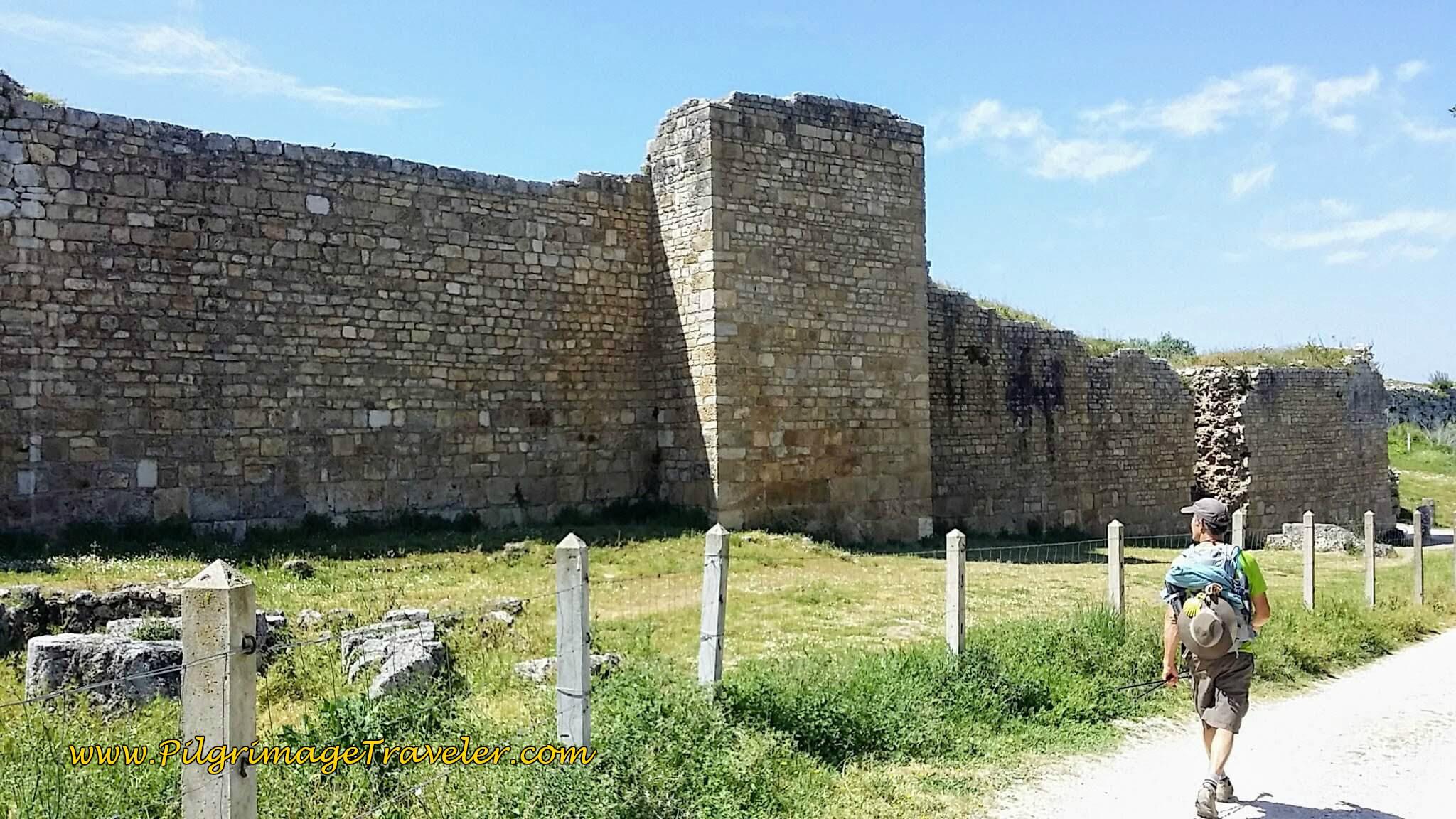Forum Wall at Conimbriga