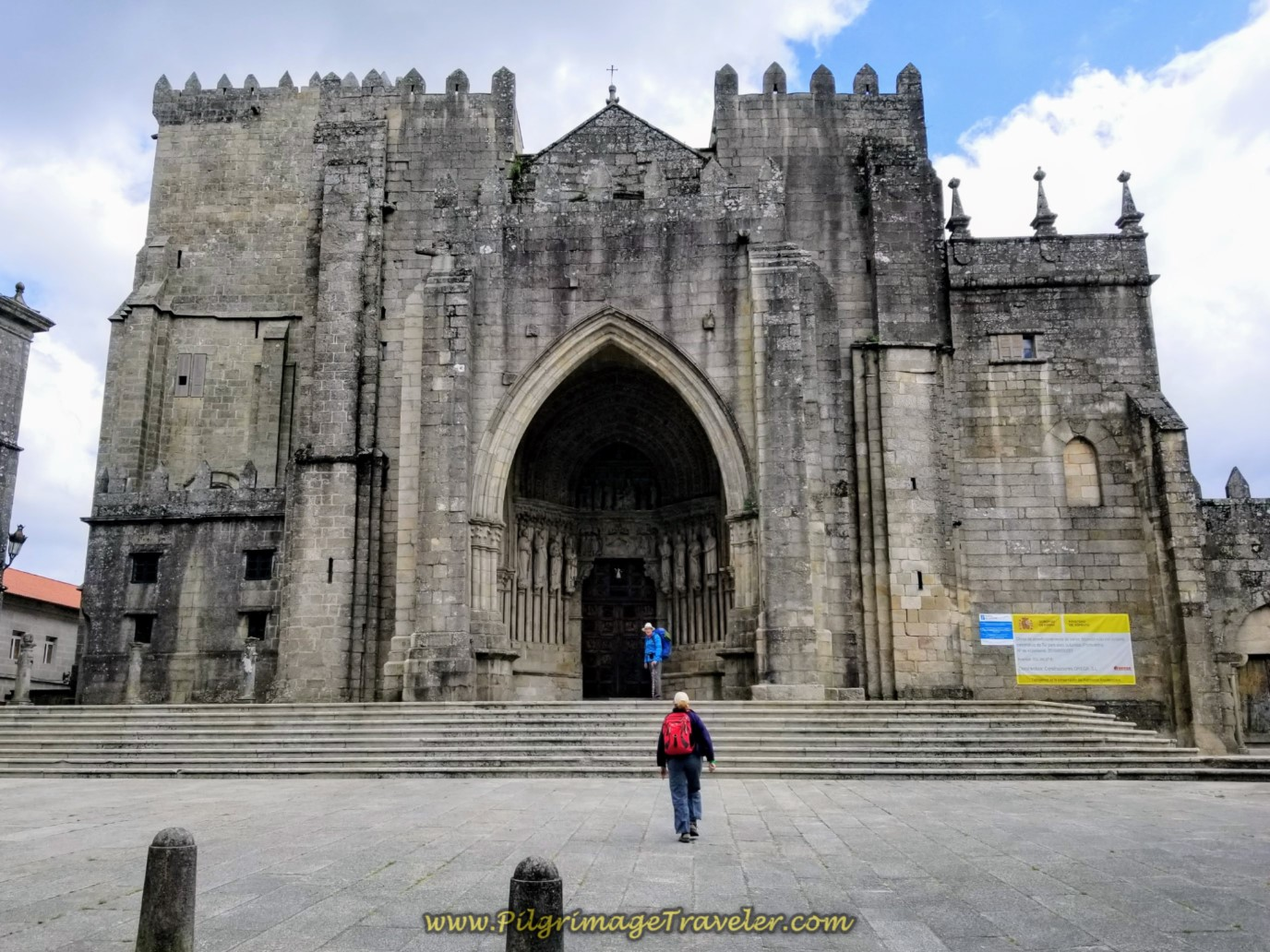 The Catedral de Tui on day nineteen on the Central Route of the Portuguese Camino