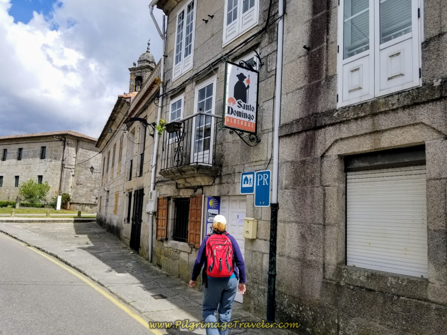 Albergue Santo Domingo in Tui on day nineteen on the Central Route of the Portuguese Camino