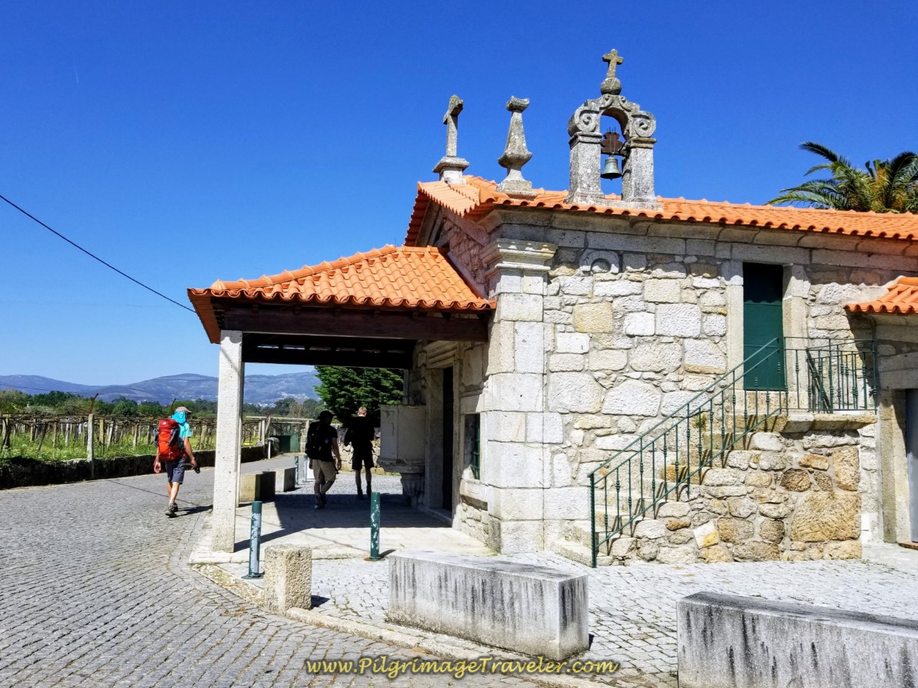 Capela Nossa Senhora Das Neves in Barros on day seventeen on the Central Route of the Portuguese Camino