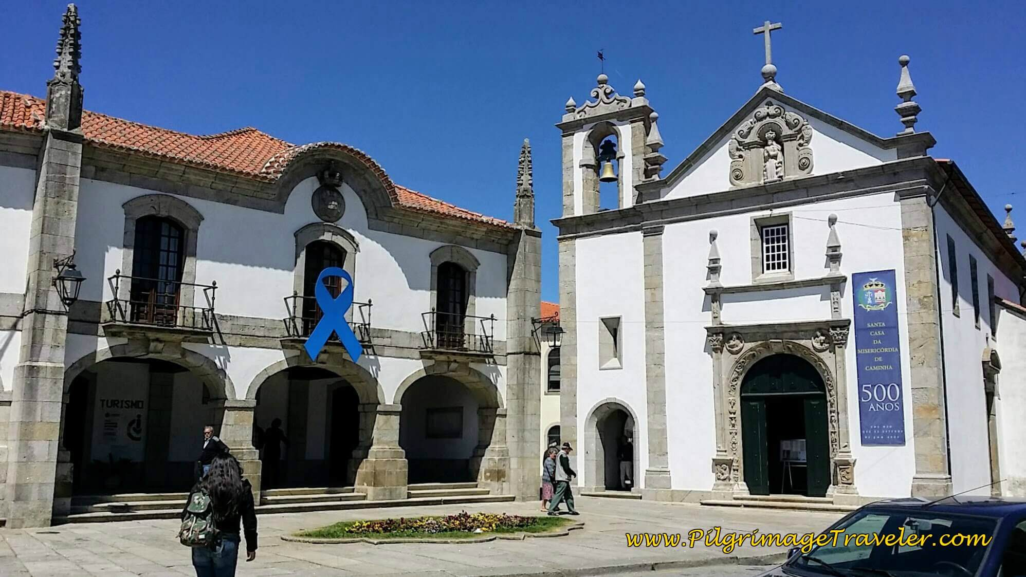 Igreja da Misericórdia on day eighteen of the Camino Portugués on the Coastal Route