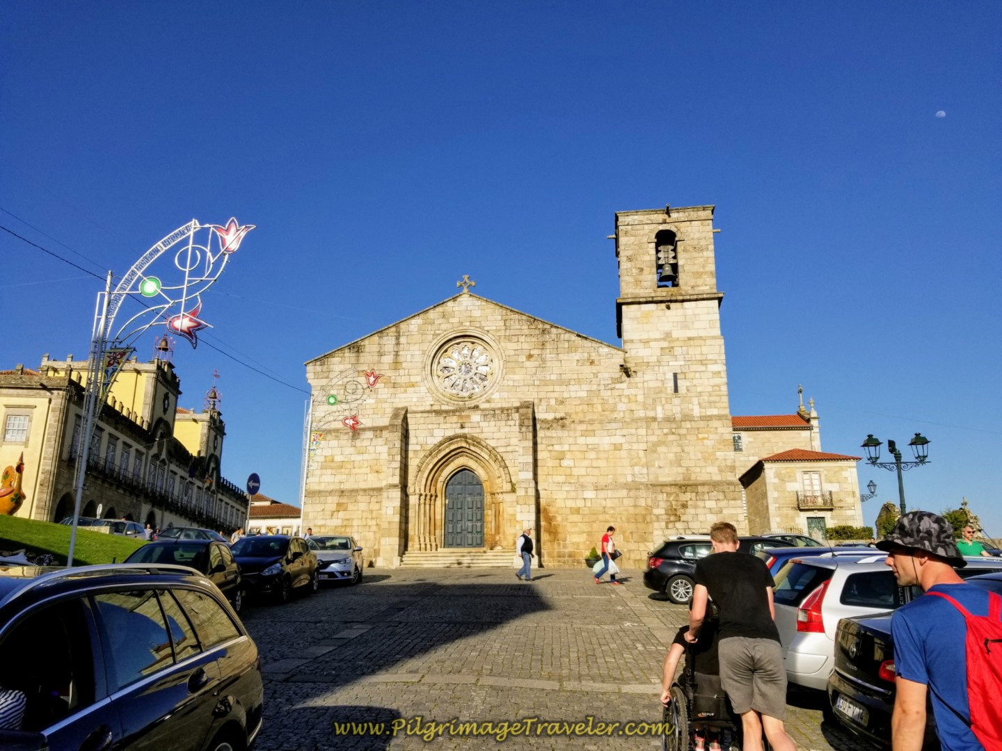 Igreja Matriz de Barcelos on day sixteen on the Central Route of the Portuguese Way