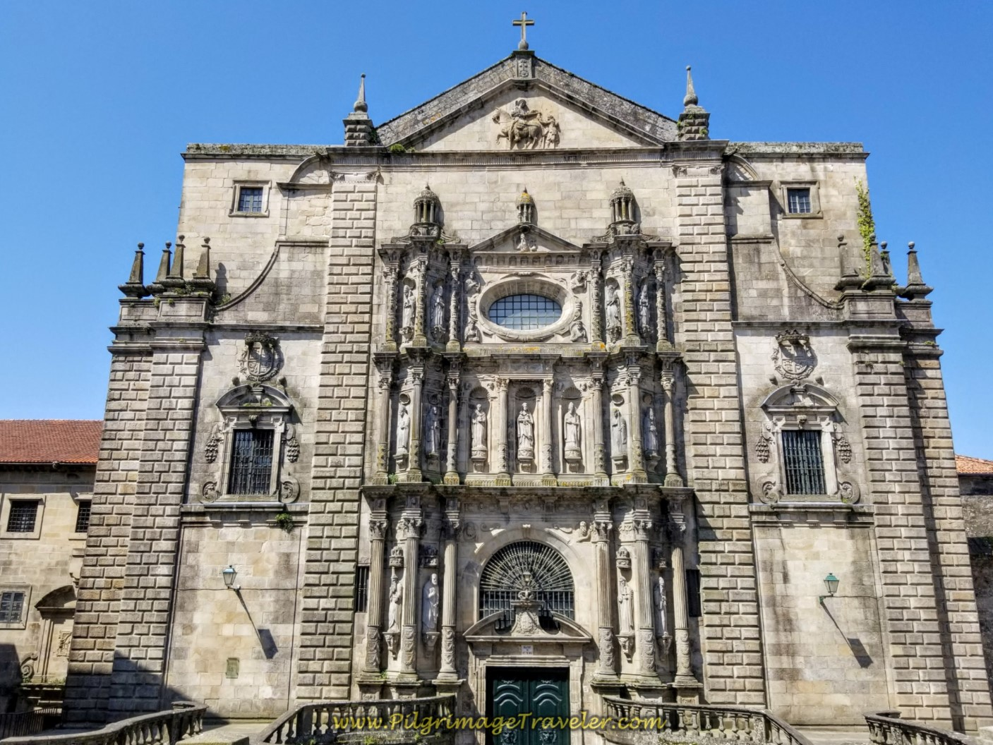 Pass By the Church in the Praza de San Martiño on day eight of the English Way