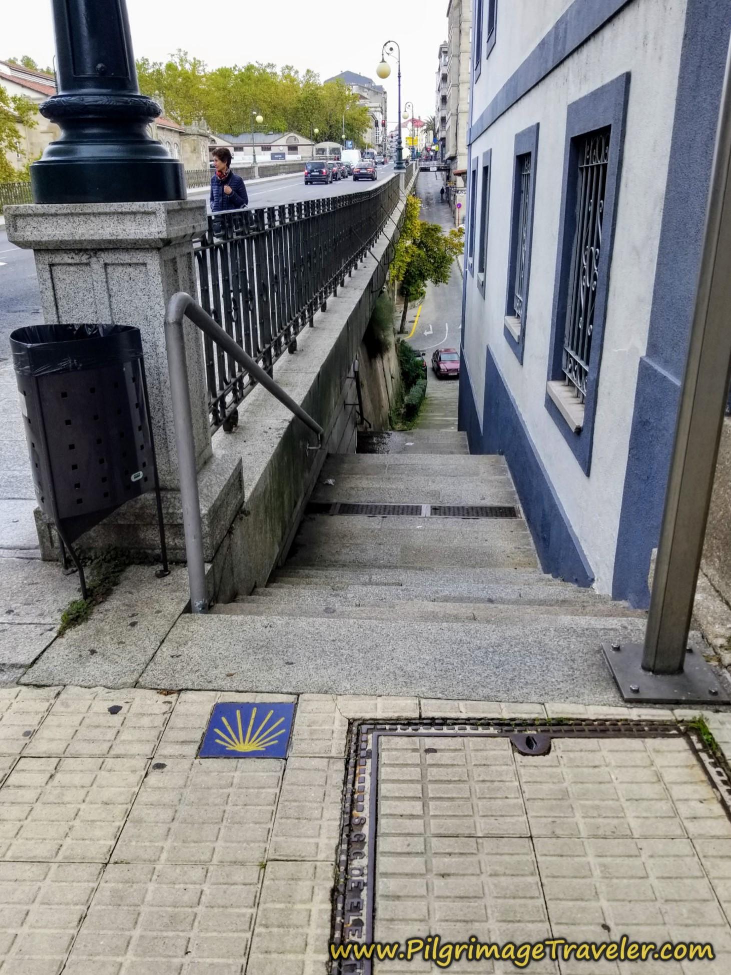 Find Stairway to As Burgas Hot Springs