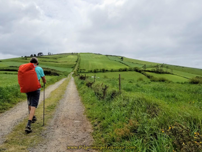 Hill Ahead Towards Summit of Monte Aro