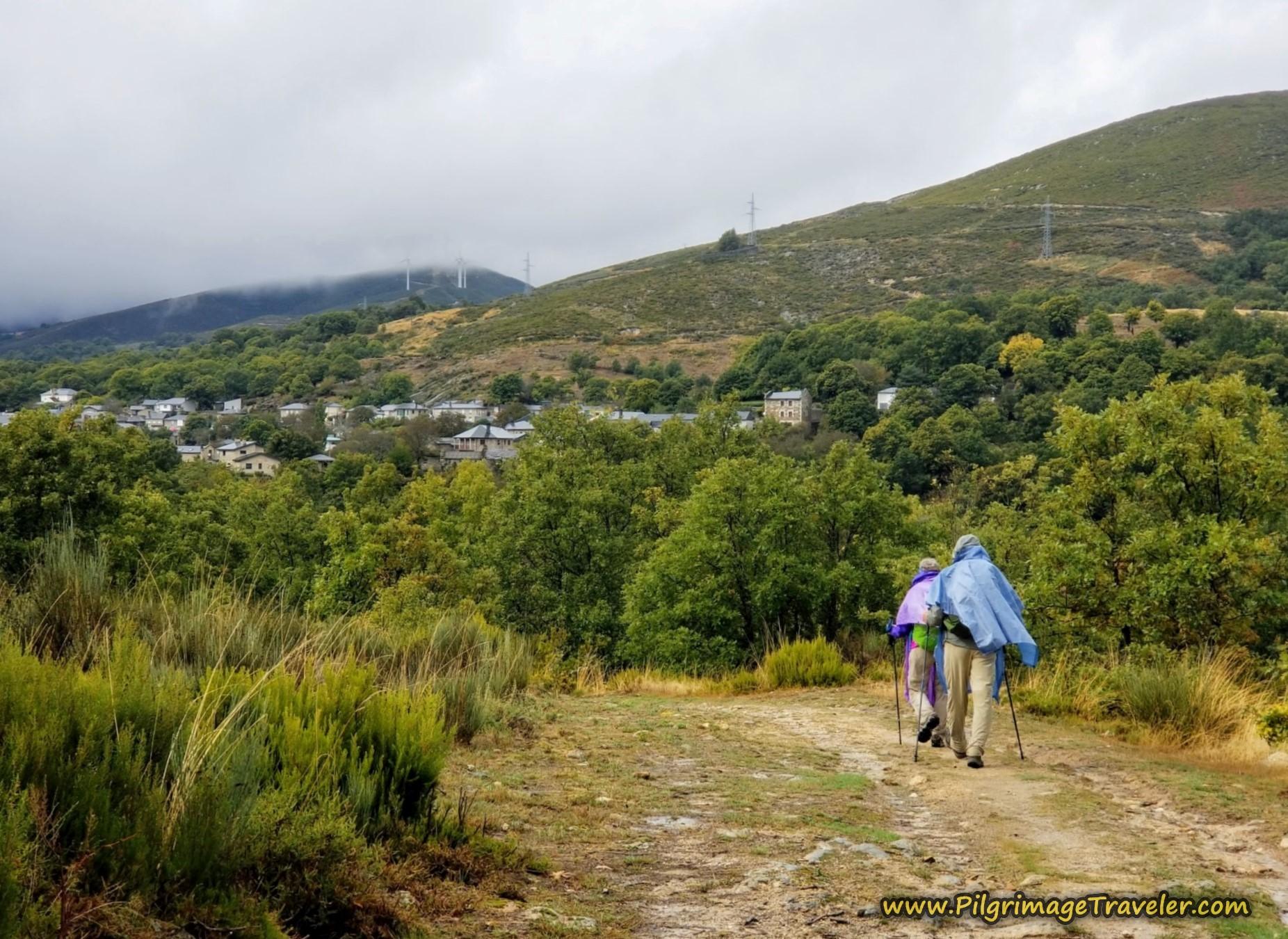 Lubián at Last on the Camino Sanabrés from Puebla de Sanabria to Lubián