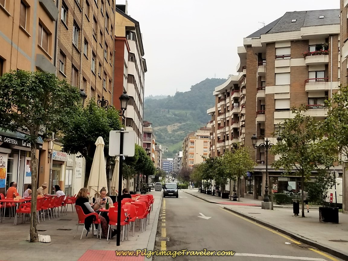 Tapas Bars on the Calle Manuel Llaneza