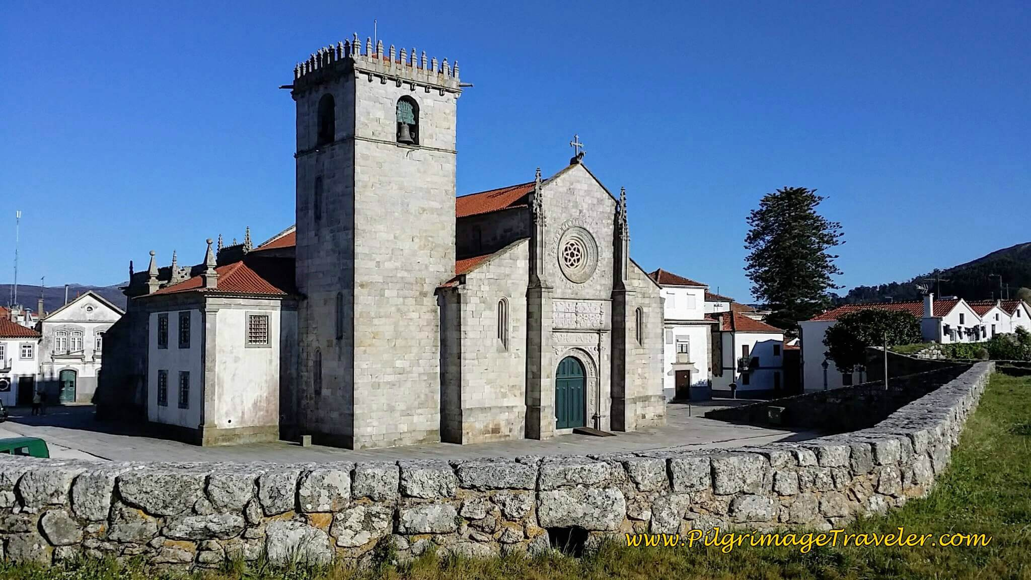 Igreja Matriz de Caminha on day eighteen of the Camino Portugués on the Coastal Route