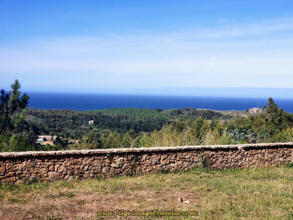 View of Sea from San Roque de Chorente Chapel