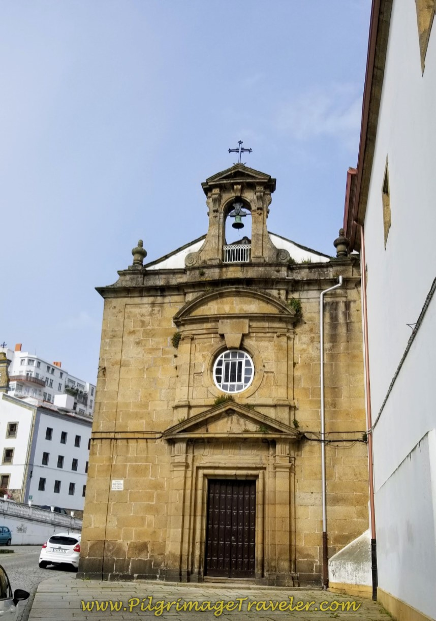Pass the Iglesia de San Francisco on day one of the Camino Inglés