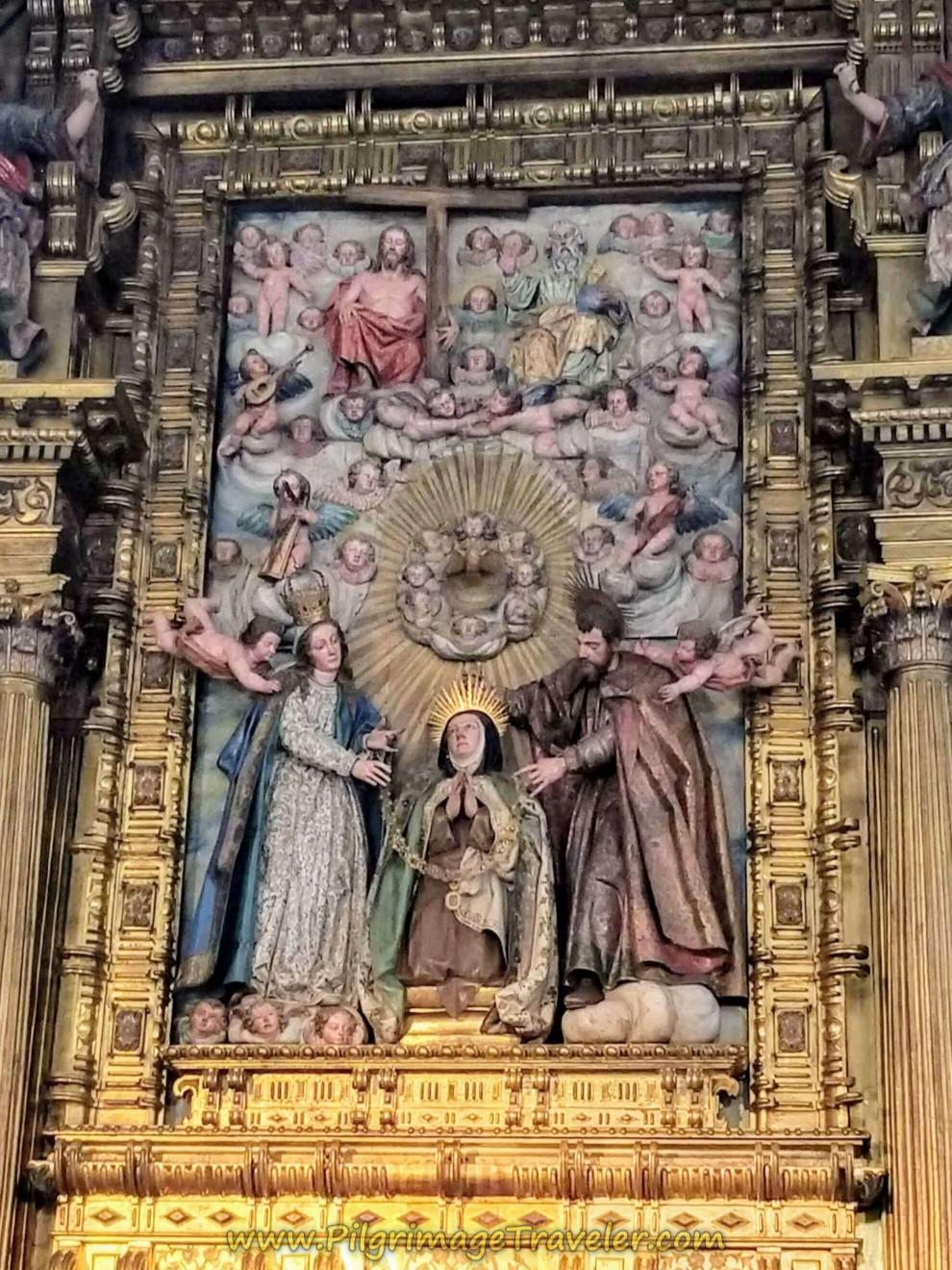 Altar Close-Up Convento de Santa Teresa de Jesús