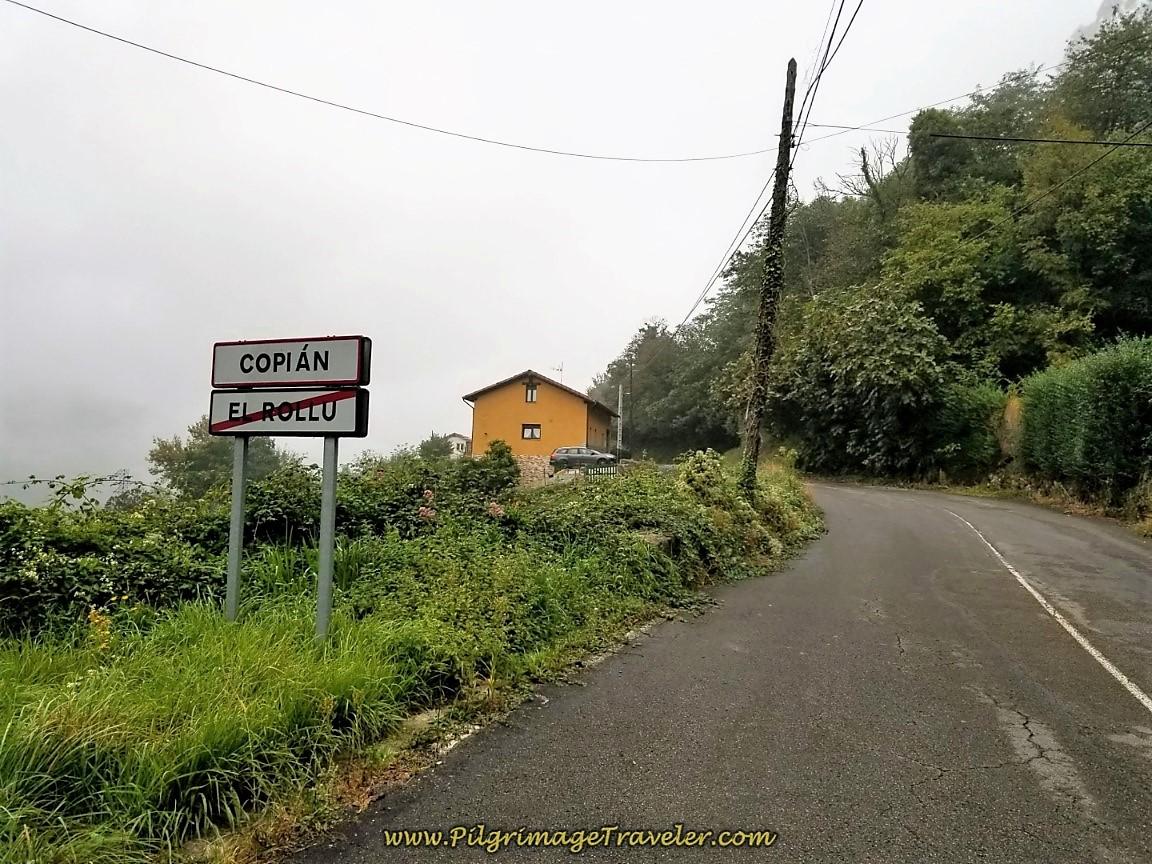 Entering Copían on Day Six of the Camino de San Salvador