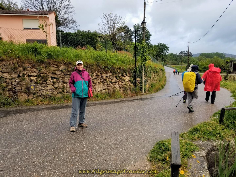 Glyvia on the Rúa Arraial