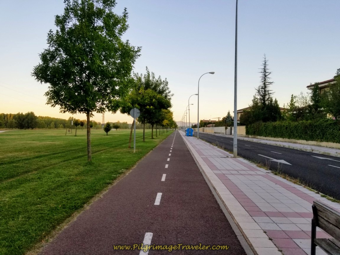 Running Track Joins the Camino