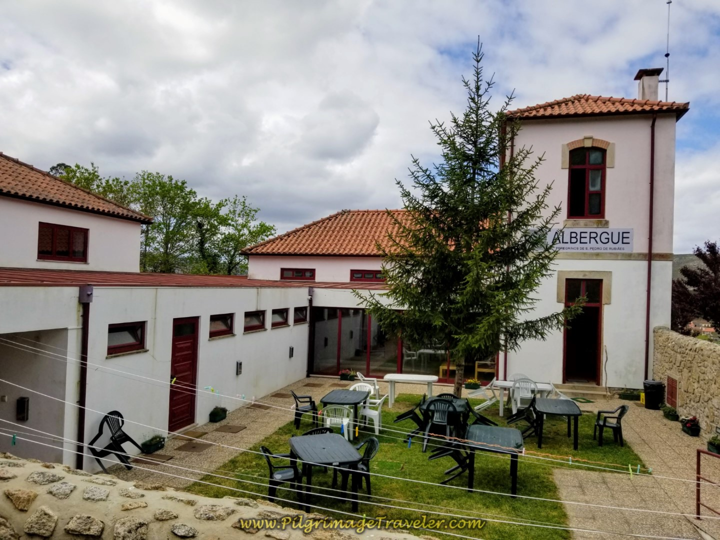 Albergue de Peregrinos de São Pedro de Rubiães on day eighteen on the Central Route of the Portuguese Camino