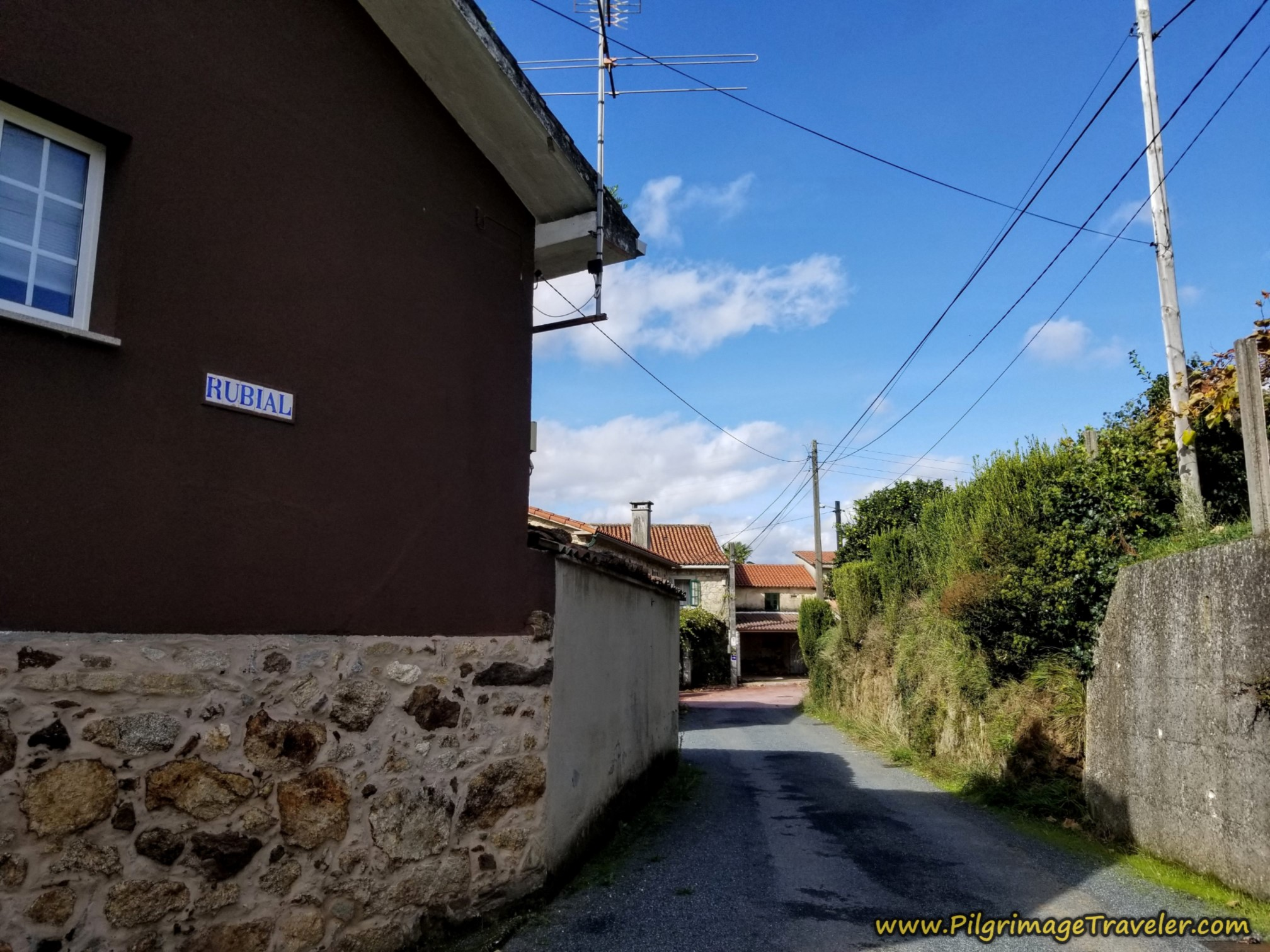Right Turn in Rubial