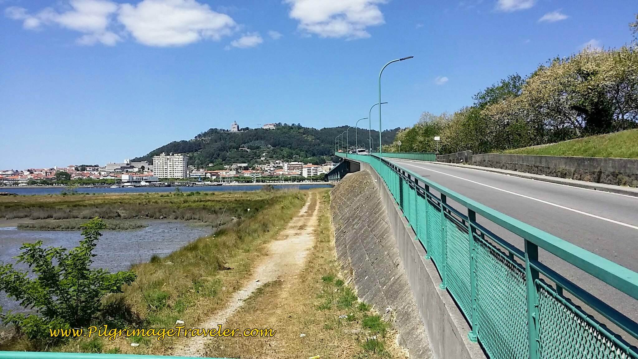 Cross the Bridge into Viana do Castelo on day seventeen of the Portugese Way