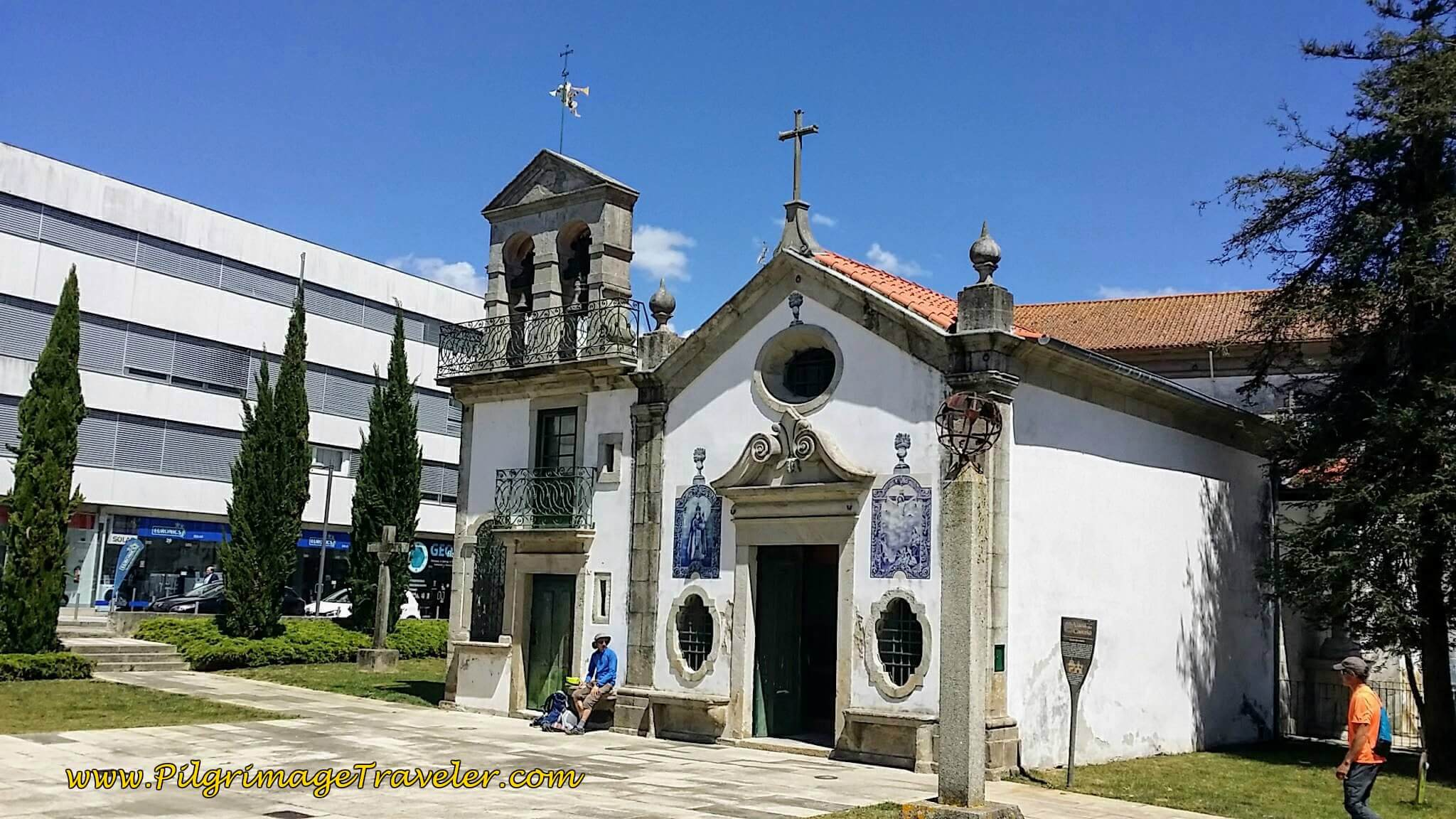 Capela das Almas, Viana do Castelo on day seventeen of the Portugese Camino