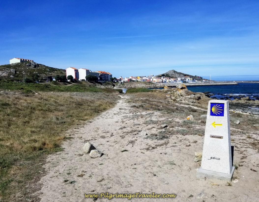 Stay Left at the 1.998 Kilometer Waymark