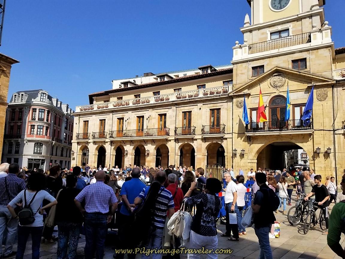 Ayuntamiento de Oviedo, Town Hall