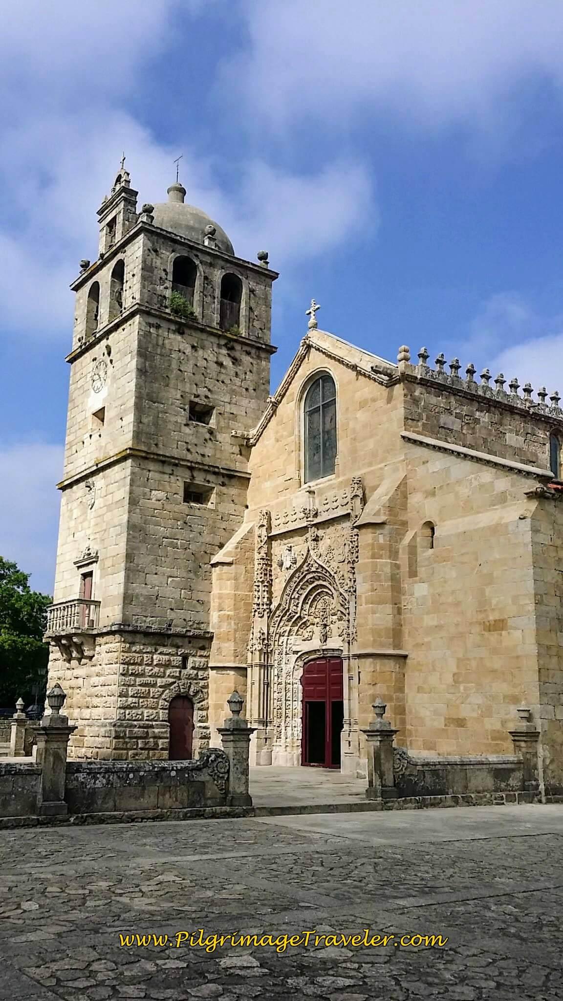 Igreja de São João Baptista, Vila do Conde, Portugal on day fifteen of the Camino Portugués